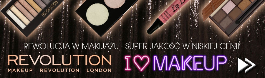 Makeup Revolution - doskonałe kosmetyki do makijażu