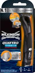 Wilkinson Quattro Titanium Precision maszynka + 1 wkład