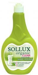 Sollux płyn do mycia butelek i smoczków 500ml Organic Clean