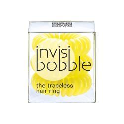 Invisibobble gumki do włosów żółte 3szt