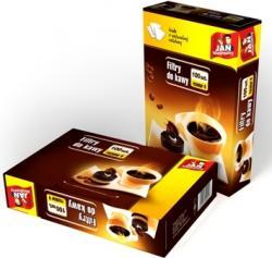 Jan Niezbędny celulozowe filtry do kawy rozm.4-100 sztuk
