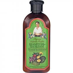 Receptury Babuszki Agafii szampon i balsam regenerujący 350ml