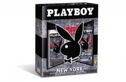 Playboy zestaw New York dezodorant 150ml + DNS 75ml