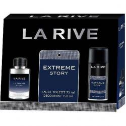 La Rive zestaw Extreme Story woda + dezodorant