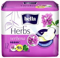 Bella podpaski ze skrzydełkami Herbs kwiaty werbeny 12 szt.