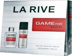 La Rive zestaw Game for Men woda + deo