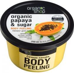Organic Shop peeling do ciała Papaja 250ml