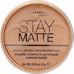 Rimmel Stay Matte puder prasowany 005 Silky Beige