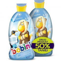 Bobini szampon, żel i płyn do kąpieli Sensitive duopak 2x400ml
