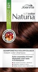 Joanna Naturia Soft Color S21 dziki kasztan szamponetka koloryzująca