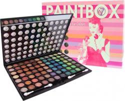W7 Paintbox zestaw 77 cieni do powiek