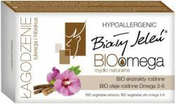 Biały Jeleń Bio Omega łagodzenie lukrecja i hibiskus mydło naturalne 85g