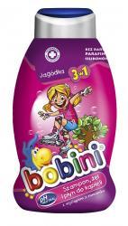 Bobini szampon-żel do kąpieli 3w1 Jagódka 750ml