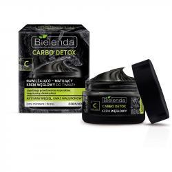 Bielenda Carbo Detox krem węglowy do twarzy 50ml