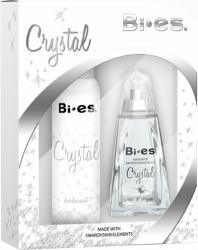 Bi-es zestaw Crystal woda + deo