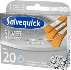 Salvequick Silver Technology 20szt plastry wodoodporne