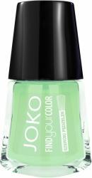 Joko lakier do paznokci Find Your Color 133 Gunpowder with mint