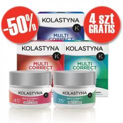 Kolastyna Multi Correct & Blur pakiet kremów 50% taniej