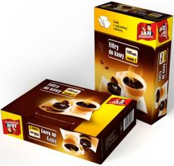 Jan Niezbędny celulozowe filtry do kawy rozm.2-100 sztuk
