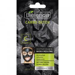 Bielenda Carbo Detox maska oczyszczająca do cery mieszanej i tłustej 8g