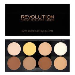 Revolution Ultra Cream Contour paleta do konturowania