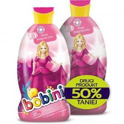 Bobini szampon i płyn do kąpieli Mała księżniczka duopak 2x400ml