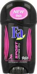 Fa sztyft Sport Ultimate Dry 50ml