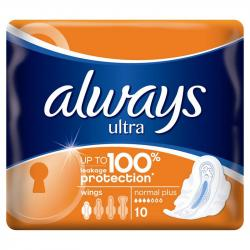 Always Ultra Normal Plus 10szt. podpaski