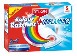 Dylon colour catcher + odplamiacz 2w1 5 szt.