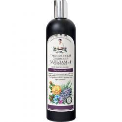 Babuszka Agafia balsam do włosów wzmacniający 550ml Tradycyjny Syberyjski