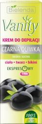 Bielenda Vanity krem do depilacji czarna oliwka 100ml