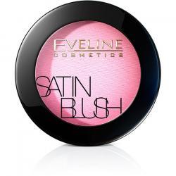 Eveline Satin Blush 01 Soft pink róż do policzków