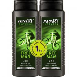 Apart żel pod prysznic męski duo Free Man 500ml