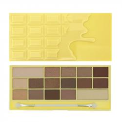 Revolution (I ♡ Makeup) zestaw 16 cieni Naked Chocolate
