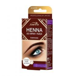 Joanna Henna do brwi i rzęs ciemny brąz 15ml