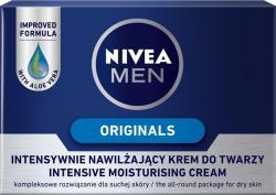 Nivea Men krem do twarzy intensywnie nawilżający 50ml