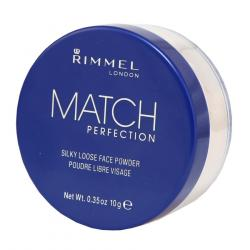 Rimmel Match Perfection puder sypki 001 Transparent
