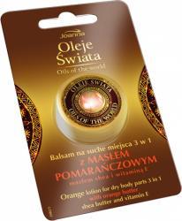 Joanna Oleje Świata balsam z masłem pomarańczowym 8g