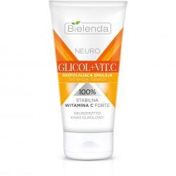 Bielenda Neuro Glicol + Vit.C emulsja do mycia twarzy 150ml