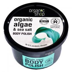 Organic Shop peeling do ciała Atlantyckie Algi 250ml