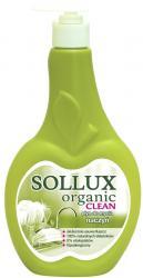 Sollux płyn do mycia naczyń 500ml Organic Clean