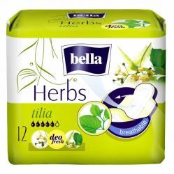 Bella Herbs podpaski kwiat lipy 12 szt.