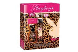 Playboy zestaw Play it Wild dezodorant 150ml + żel pod prysznic 250ml (damski)