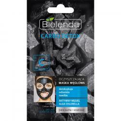 Bielenda Carbo Detox maska oczyszczająca do cery suchej i wrażliwej 8g
