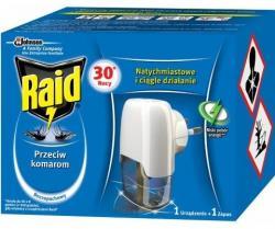 Raid electric na komary urządzenie + płyn 30 nocy