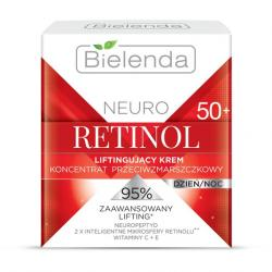 Bielenda Neuro Retinol krem liftingujący 50+ 50ml