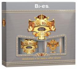 Bi-es zestaw Royal Brand Light (płyn po goleniu+dezodorant)