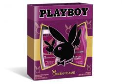 Playboy zestaw Queen of the Game żel pod prysznic 250ml + DNS 75ml