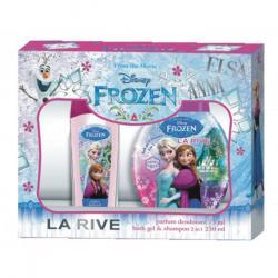 Frozen zestaw dezodorant perfumowany + szampon i żel pod prysznic 2w1