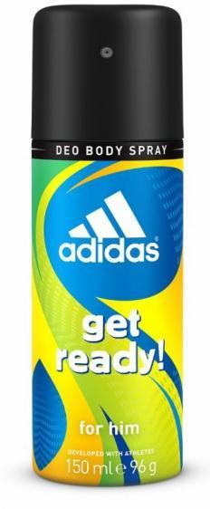 Adidas dezodorant men Get Ready 150ml